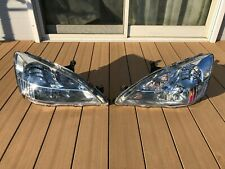 JDM 2003 Honda SABER INSPIRE UC1 ACCORD CM5 Headlights Lights Lamps Set OEM