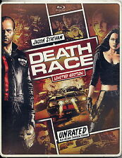 NEW DEATH RACE STEELBOOK LIMTED EDITION UNRATED BLU-RAY