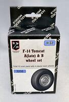 Halberd Models wheel set F-14 A&B Tomcat 1/32 scale for Tamiya & Trumpeter