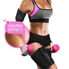 ▶ ARM AND THIGH SLIMMING BRACES 4 Pieces Fat Burners Reduce Cellulite (Large)
