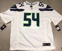 NWT Nike Boby WAGNER #54 Seattle Seahawks Mens 2XL Limited Jersey White MSRP$150