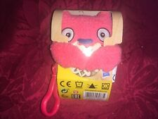 1 x UGLY DOLLS TO GO CLIP ON PLUSH LUCK BAT SOFT TOY NEW
