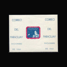 Paraguay, Sc #616a, Imperf, MNH, 1961 S/S, Space, Alan B Shepard, FXAR6-A