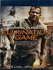 NEW BLU-RAY // ELIMINATION GAME // Dominic Purcell,(PRISON BREAK )  Viva Bianca