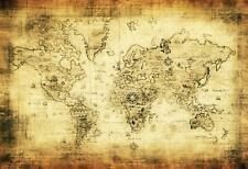 LFEEY 10x8ft Old World Map Backdrop Kids Children Baby Adults Portrait Photo