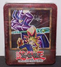 Yugioh 2002 Dark Magician Yugi Collectible Tin (LOB MRD & MRL Packs) New Sealed