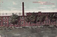 Postcard Dennison Manufacturing Co So Framingham MA