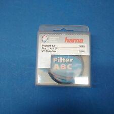 HAMA M46 Filtre Skylight 1A MC LA+10 46 mm UV Absorber