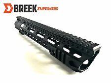"""12"""" Keymod Slanted Slim Free Float Handguard Forward Cut Rail by Breek"""