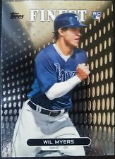 2013 Topps Finest #33 Wil Myers Rookie RC San Diego Padres Baseball Card