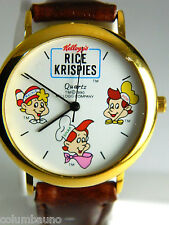 """Rice Krispies""  SNAP ,CRACKLE AND POP MENS/KIDS CHARACTER WATCH,"