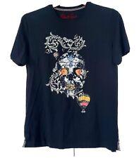 Robert Graham Skull Tshirt Sz M B15