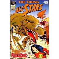 Young All-Stars #14 in Near Mint minus condition. DC comics [*y6]