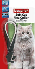 Cat Flea Collar Beaphar Soft Cat Collars 3, 6 or 12 Bulk Buy and save Money pet