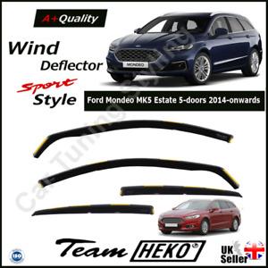 ESTATE Details about  /FORD MONDEO  2015 COMBI 5.doors  Wind deflectors  4.pc  HEKO 15313