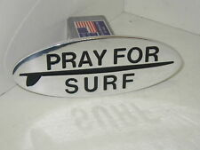 PRAY FOR SURF, HITCH COVER,expedition,chevy, ford, SURFING,SURF BOARD