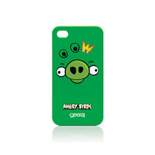 Gear4 Angry Birds Cerdo Rey caso para Apple Iphone 4-Verde