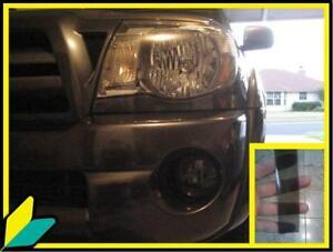 05-11 tacoma XRunner prerunner TRD Fog light Smoke Overlays TINT Kit precut wrap