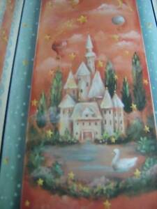 Folk Art For Children Painting Book-Saunders- Castle/Animals/Stars/Buttercup Cow