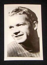 Bill Williams 1940's 1950's Actor's Penny Arcade Photo Card