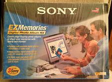 Sony EZ Memories Digital Photo Album Kit {NIB} + 3 New CDs