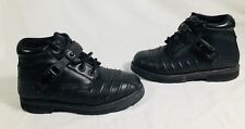 Women's ICON Super-Duty Stealth Motorcycle Black Boots Size 9