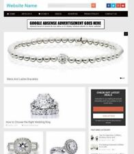JEWELLERY STORE - Work From Home Online Business Website For Sale + Domain