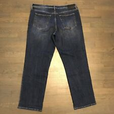 Liverpool Relaxed Straight Leg Stretch Denim Jeans Dark Blue Men's Size 40/34