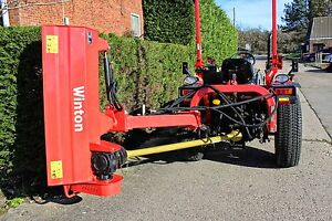 WVF150 - Winton Heavy Duty Verge Flail - 1.5m Wide - For Compact Tractors