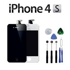 écran iPhone 4S noir Complet LCD Retina Châssis Vitre Tactile Grille + Outils