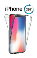 360 TPU Gel Case Front + Back Case Cover Screen Protector For Apple iPhone X