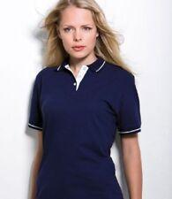 Camisas y tops de mujer de manga corta Polo color principal azul