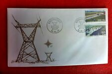 1976 SOUTH WEST AFRICA HYDRO ELECTRIC FIRST DAY COVER  ONDANGWA POSTMARK