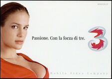 cartolina pubblicitaria PROMOCARD n.3427 MOBILE 3 VIDEO COMPANY CELLULARE