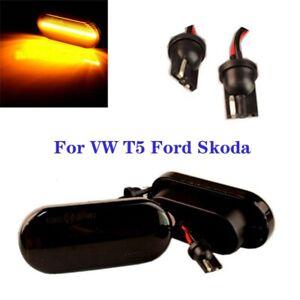 Original LED Seitenblinker Blinker für VW T5 GOLF PASSAT SEAT LEON SKODA FORD