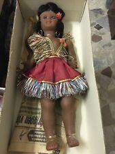 Bambola anni 50 vintage bellissima intera con scatola  originale