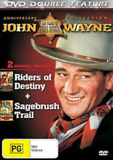 John Wayne Riders of Destiny / Sagebrush Trail Double Feature Region 0 DVD