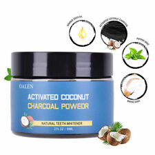 Organic Coconut Shell Powder Carbon Coco Activated Charcoal Teeth Whitening Gift