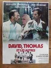 Plakat David,Thomas und die Anderen Jean-Louis Trintignant & Rochefort 40x60cm *