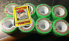 NEW SURE-GRIP GREEN FUGITIVE MID 62MMX35MM 97A ROLLER SKATE QUAD SPEED WHEELS