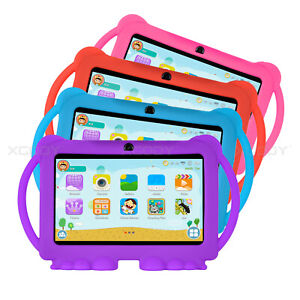 Multi-color Folios for 7 Inch Android Tablet PC Protective Handle Silicone Case