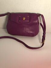 Marc Jacobs crossbody  classic handbag Purple purse small leather