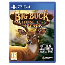 Big Buck Hunter Arcade Ps4 Playastation 4 UK PAL