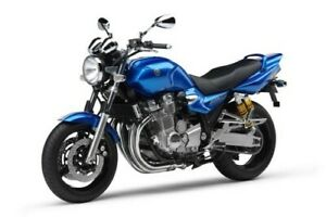 Yamaha XJR1300 Service Workshop Manual with Owner Manual and Parts Catalogue PDF