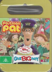 POSTMAN PAT DVD - Great Big Party - An ABC For Kids DVD NEW & SEALED Free Post