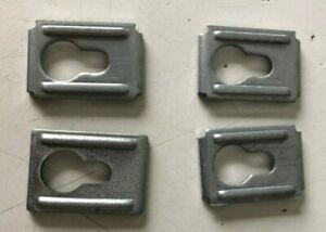 Lot of 4 Genuine IKEA Keyhole Bracket, Part # 103693 - NEW