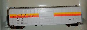 Athearn Genesis HO scale  50' SIECO Box Car  Bay Colony  #5608 - G4221