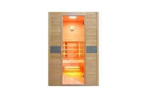 Vollspektrum Infrarotkabine Wärmekabine Sauna Infrarotsauna Infrarot Joanne 2