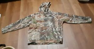 Under Armour Men's Realtree Camo Hoodie Prudhoe Bay Alaska Size LG