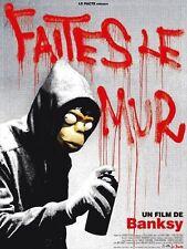 Affiche 120x160cm FAITES LE MUR (2010) Banksy - Rhys Ifans - Banksy  BE